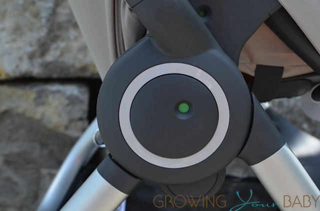 Stokke Scoot - seat indicator