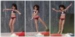 Suri Cruise dances by the pool in Miami