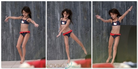Suri Cruise dances by the pool in Miami