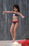Suri Cruise dances poolside in Miami