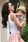 Tamara Ecclestone steps out with daughter Sophia in St. Tropez