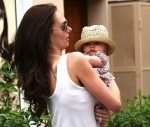 Tamara Ecclestone steps out with daughter Sophia in St
