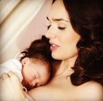Tamara Ecclestone with newborn daughter Sophia