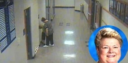 Teacher Barb Williams is videotaped manhandling Ian Nelson