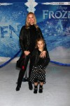 Teri Polo with daughter Bailey at Disney's Frozen Premiere