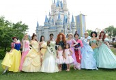The Disney princess are joined by Rosie and Sophia Grace