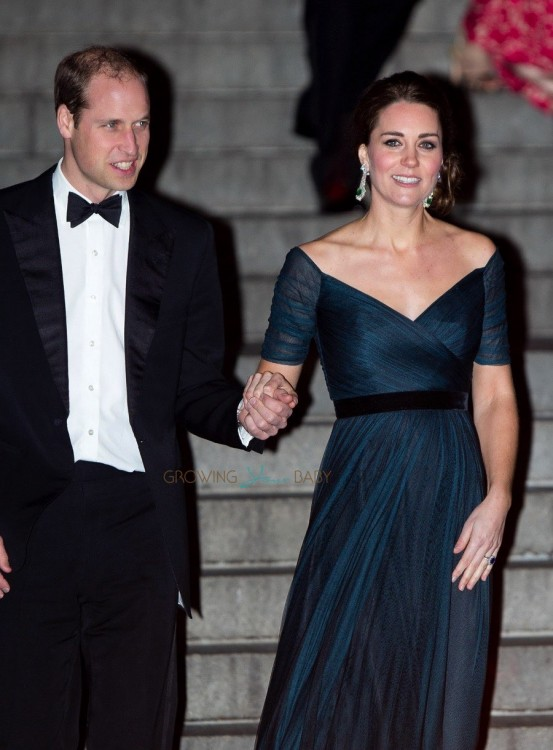 The Duke & Duchess of Cambridge Attend St. Andrews 600th Anniversary Dinner