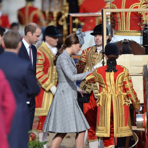 Duke and Duchess of Cambridge, Elizabeth II and Prince Philip, Duke of Edinburgh welcome The President of the Republic of Singapore for a Ceremonial Welcome on Horse Guards Parade in London