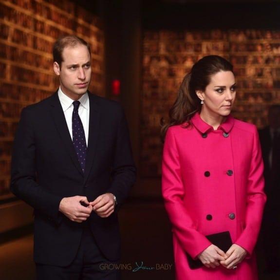 The Duke and Duchess of Cambridge tour NYC