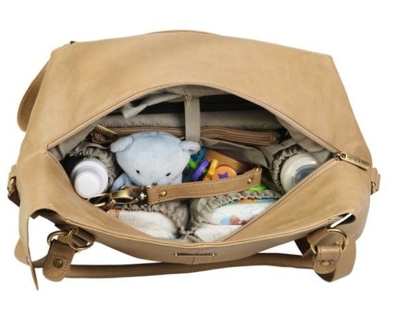 Timi & Leslie Charlie Diaper Bag inside