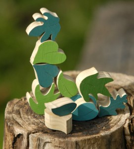 Tinocchio wooden stacking puzzle
