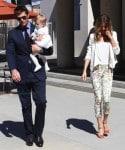 Tom Brady & Gisele Bundchen Baptize their baby Vivian