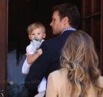 Tom Brady & Gisele Bundchen Baptize their baby Vivian in Santa Monica