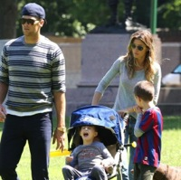 Tom Brady & Gisele Spend Father's Day At The Park With Their Kids