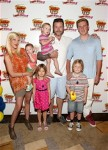 Tori Spelling and Dean McDermott with kids Jack, Stella, Liam, Hattie and Finn at Disney Junior Live On Tour!