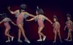 Tutu Du Monde ss14 brightstar top and limelight shorts