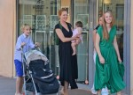 Uma Thurman and Family Spend the Day in Saint-Tropez