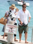 Uma Thurman and Arpad Busson Enjoy St Tropez