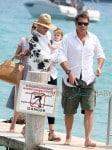 Uma Thurman and Arpad Busson Enjoy St Tropez