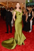 Uma Thurman at the 2013 Met Gala at Metropolitan Museum of Art