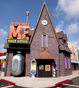 Universal Studios Orlando - Despicable Me ride