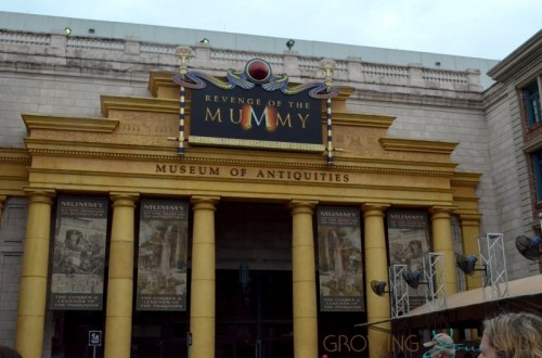 Universal Studios - the Mummy