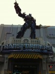 Universal Studios - transformer's ride