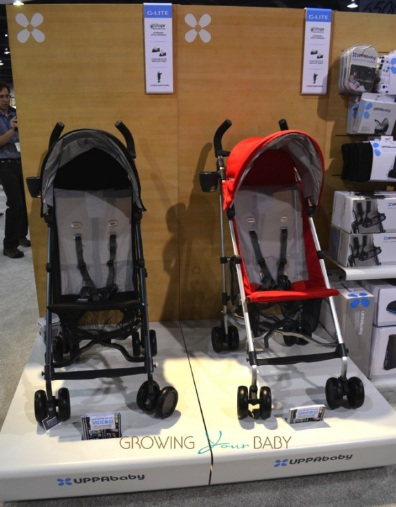 Uppababy 2014 G-lite double stroller