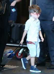 Ricky Martin and family land in Sydney