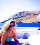 Vanessa Bryant in Greece