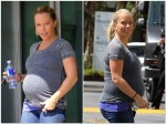 Very Pregnant Kendra Wilkinson out in Los Angeles, CA