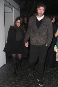 Very pregnant Soleil Moon Frye leaving Chateau Marmont with husband Jason Goldberg