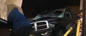 Video stills of the crash scene Monica Ramirez