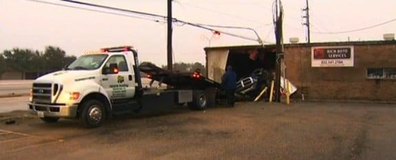 Video stills of the crash scene Monica Ramirez texas