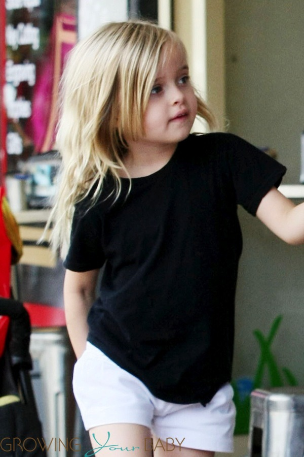 Vivienne Jolie Pitt Out Shopping In Australia Growing