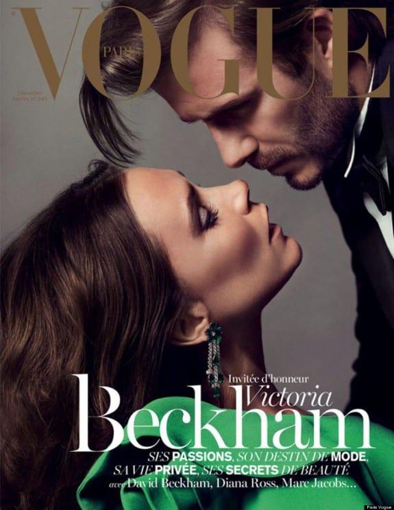 Vogue France Victoria & David Beckham