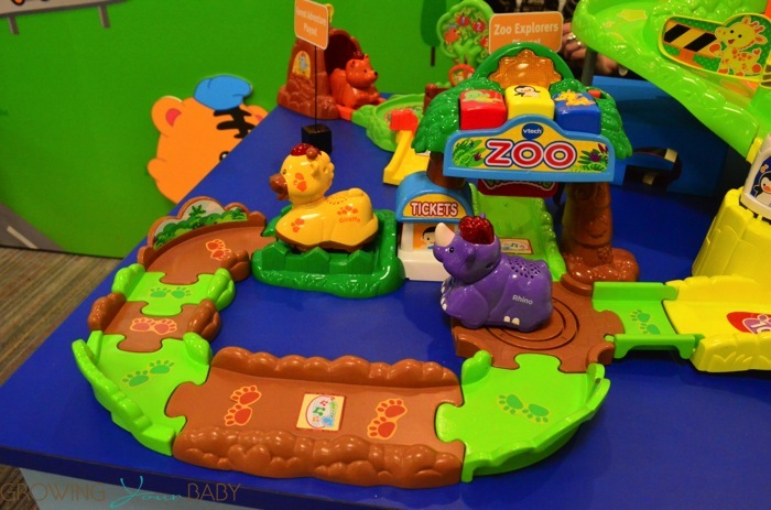 Vtech Go Go Smart Animals Zoo Playset Growing Your Baby