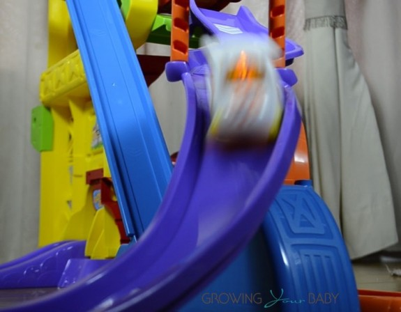 Vtech Go! Go! Smart Wheels Amazement Park Playset  - ramp course