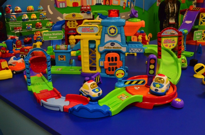 Vtech Go Go Smart Wheels Police Station Growing Your Baby