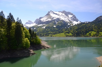 Waegitaler Lake switzerland