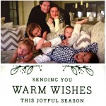Wahlberg Christmas Card