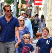Will Arnett Steps Out in NYC With His Boys