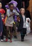 Angelina Jolie & Her Chidren Arrive Into Sydney Airport