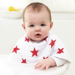aden + anais (RED) Special Edition burb bibs