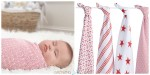 aden + anais (RED) Special Edition muslin swaddles