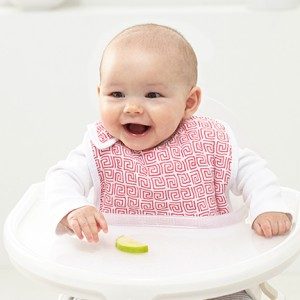 aden +anais (RED) Special Edition classic snap bibs