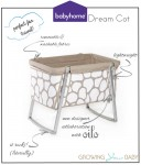 babyhome dream cot oilo collaboration