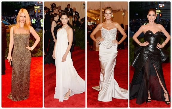 best dressed at the 2013 Met Gala at the Metropolitan Museum of Art