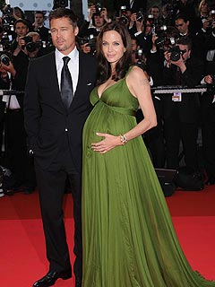 brad pitt and pregnant angelina