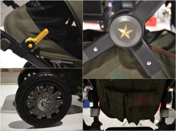 bugaboo Diesel cameleon stroller